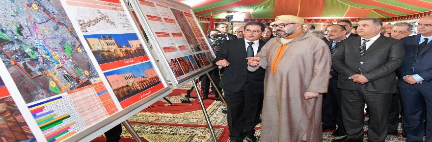 جلالة الملك محمد السادس نصره الله يشرف على توقيع اتفاقية تأهيل وتثمين المدينة العتيقة لسلا