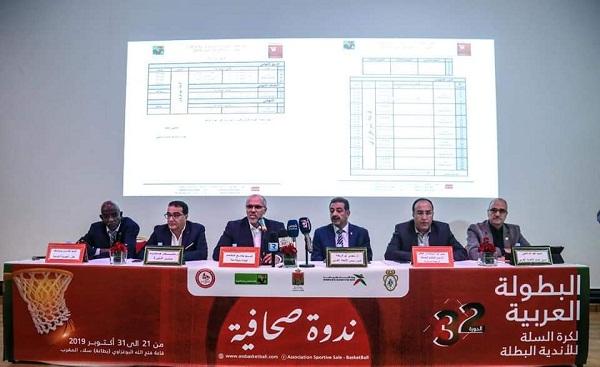 champ arabe basket 2019 2